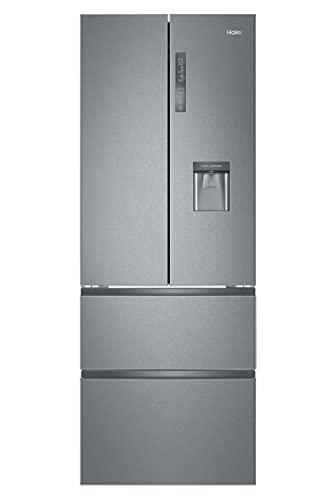 Haier B3FE742CMJW Kühl-Gefrier-Kombination / 190 cm / 296 kWh/Jahr / 307 L Kühlteil / 151 L Gefrierteil / ABT / MyZone Pro / Humidity Zone / Wasserspender / Total No Frost