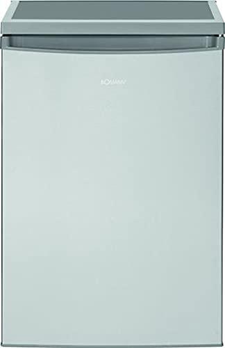 Bomann VS 2185.1 Kühlschrank/84.5 cm/93 kWh/Jahr/137 L Kühlteil/stufenlose Temperatureinstellung/inox