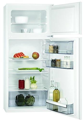 AEG SDB51221AS Einbau Kühl-Gefrier-Kombination mit Gefrierteil oben / 147 l Kühlschrank / 44 l Gefrierschrank / Einbaukühlschrank (F) / Flexible Ablagen / XXL-Gemüseschublade / H: 122,5 cm