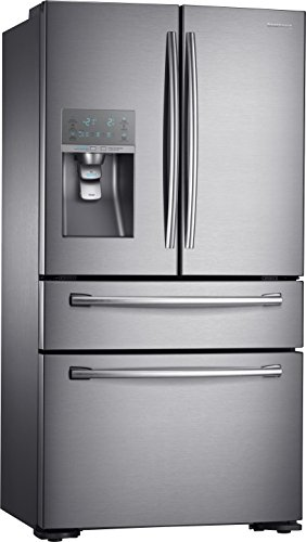 Samsung RF24HSESBSREG Side-by-Side / A+ / 177 / 7 cm Höhe / 421 kWhJahr / 333 L Kühlteil / 123 L Gefrierteil / French Door Design